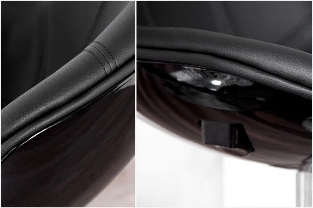 Barová stolička SPEEDCHAIR BLK - čierna