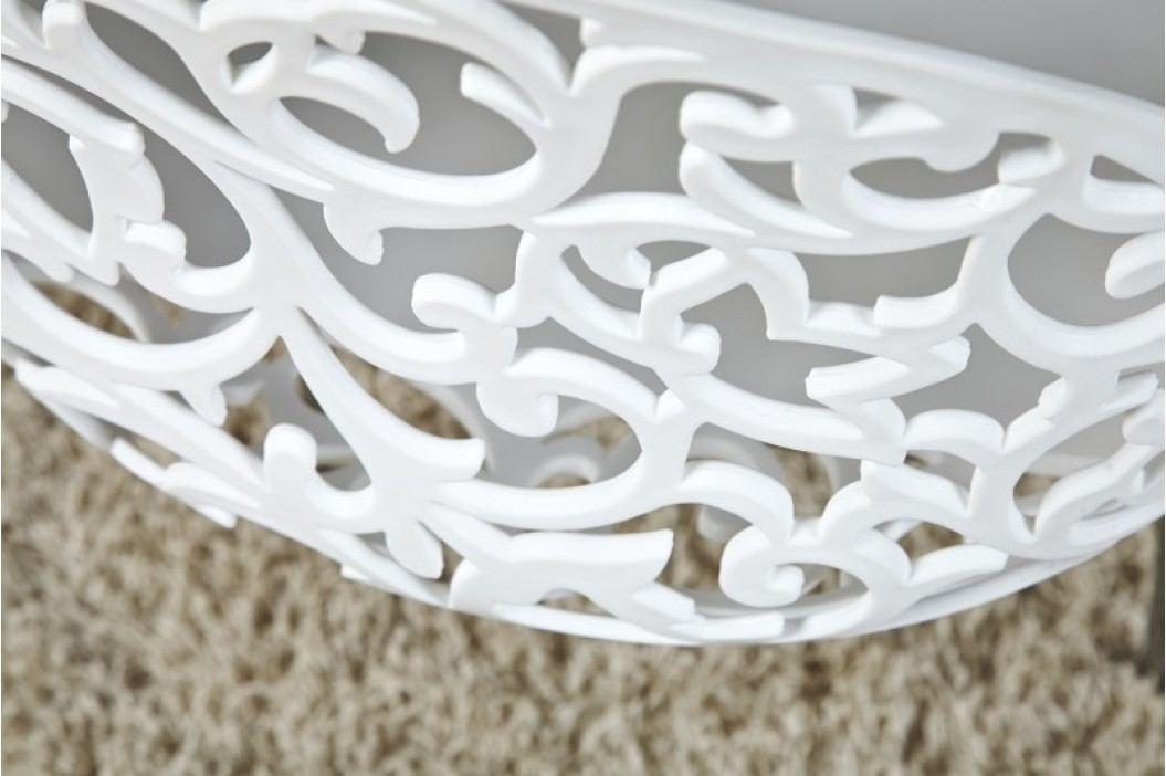 Stolička FLORA WHITE - biela
