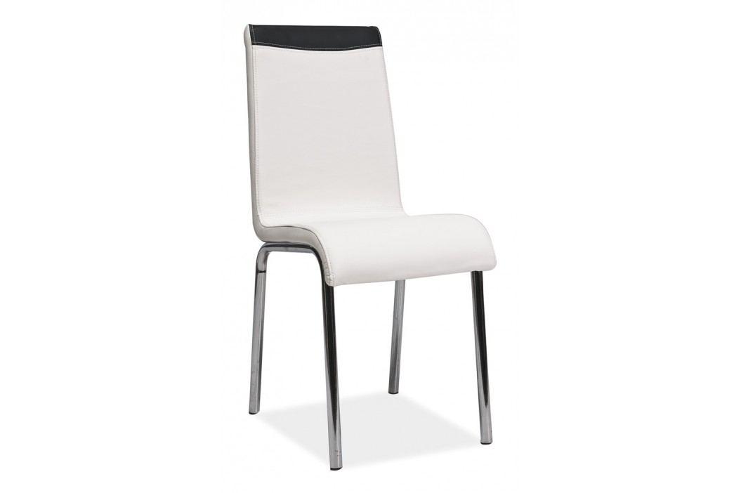 Jedálenská stolička SHEILA - biela