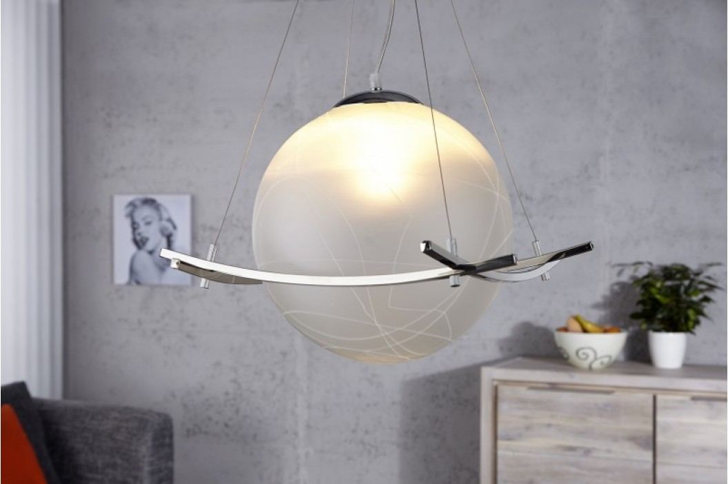 Visiaca lampa ANTARES - biela