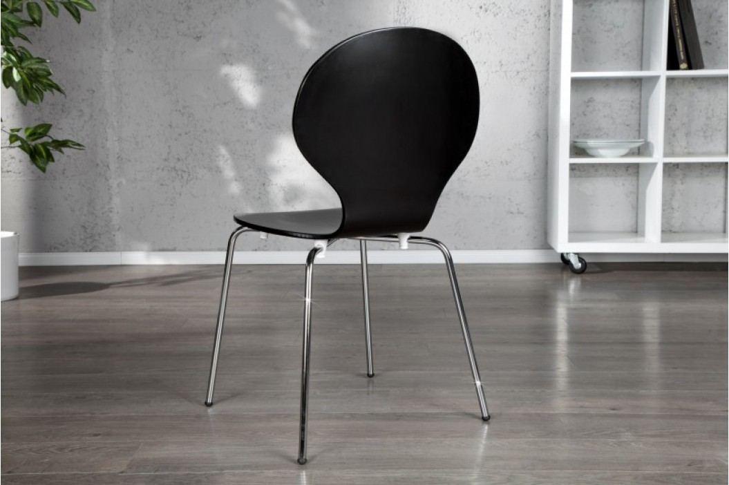 Stolička HOUSTON - čierna