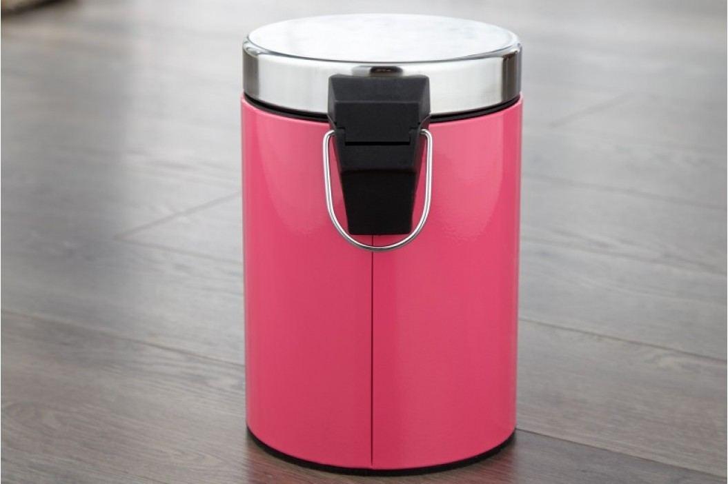 Odpadkový kôš REFUNSE - ružová