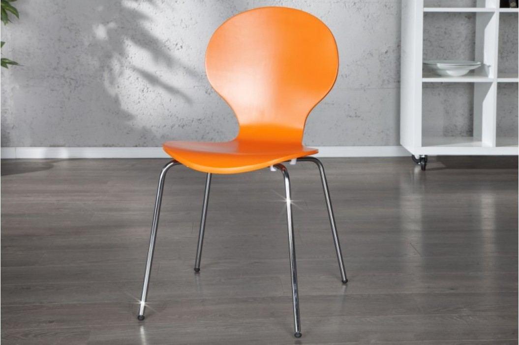Stolička HOUSTON - oranžová