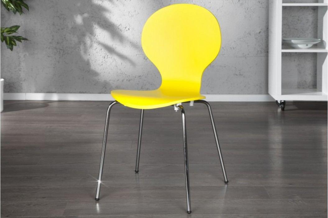 Stolička HOUSTON - žltá