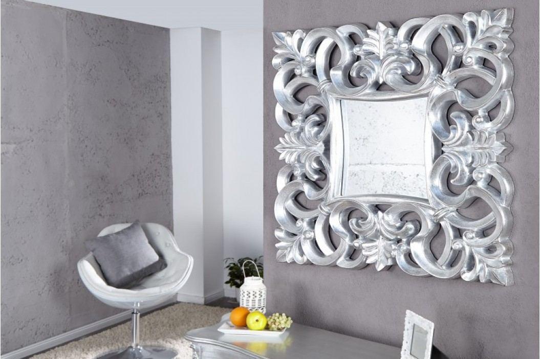 Zrkadlo na stenu BAROQUE S SILVER - strieborná