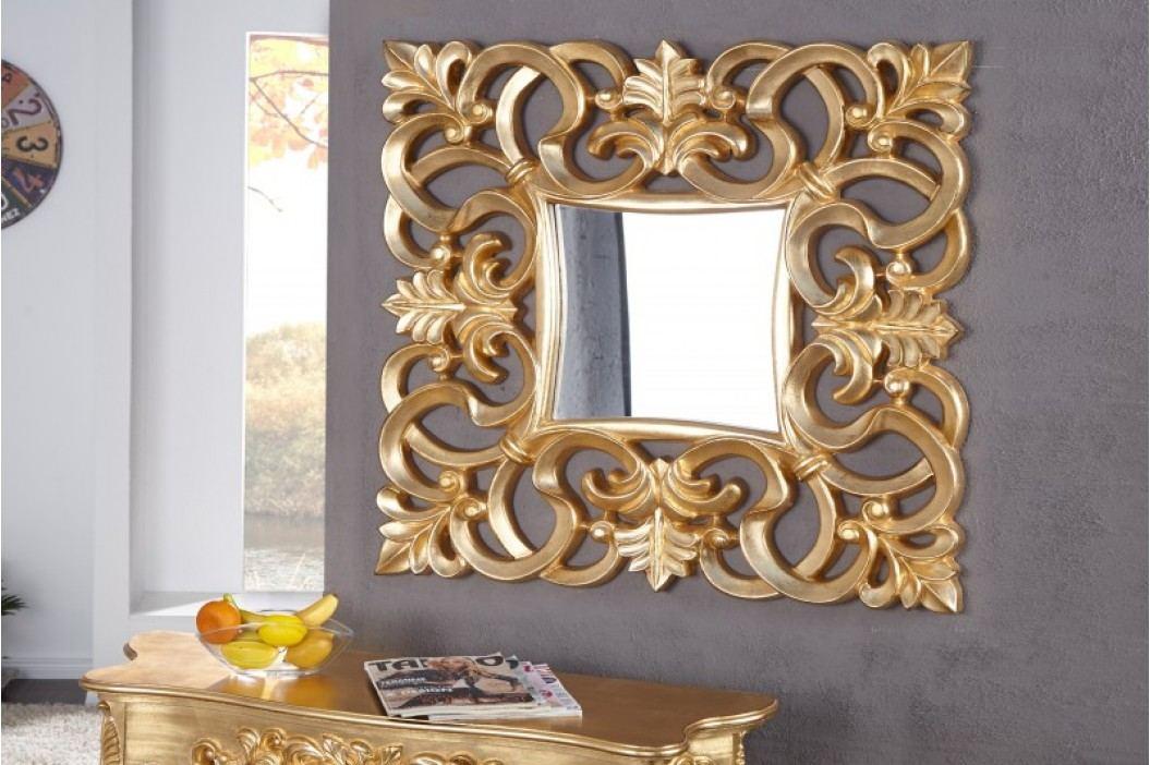 Zrkadlo na stenu BAROQUE S GOLD - zlatá