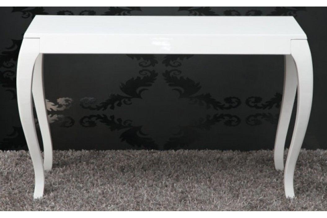 Toaletný stolík BAROCCO - biela