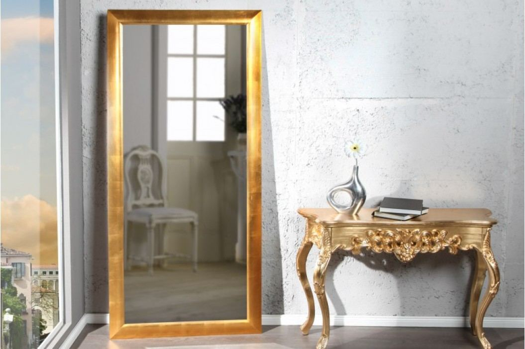 Zrkadlo na stenu EXPED GOLD - zlatá