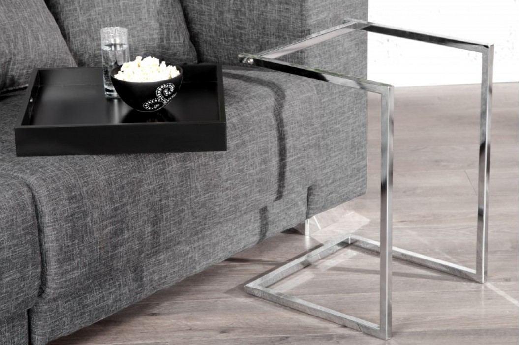 Servírovací stolík IMANE - čierna