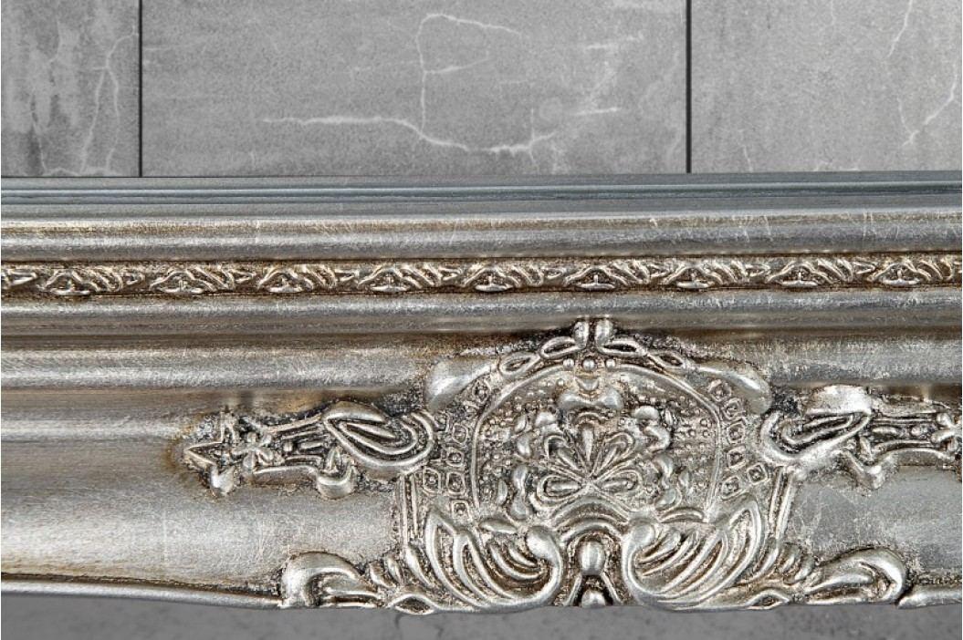 Stojanové zrkadlo RENESANCIA SILVER - strieborná