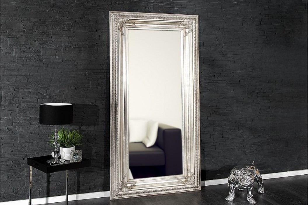 Zrkadlo na stenu RENESANCIA 180 cm - antická strieborná