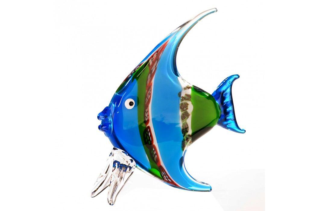 Dekoratívna soška FISH - červená