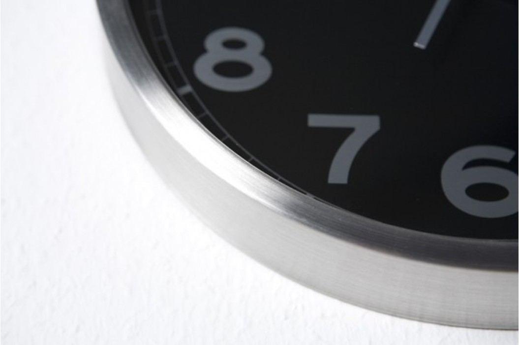 Nástenné hodiny RAMBOY - čierna