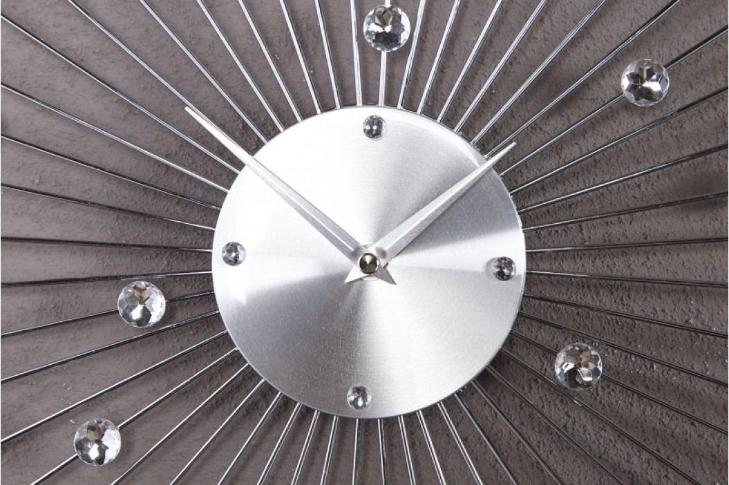 Nástenné hodiny OMBO - strieborná