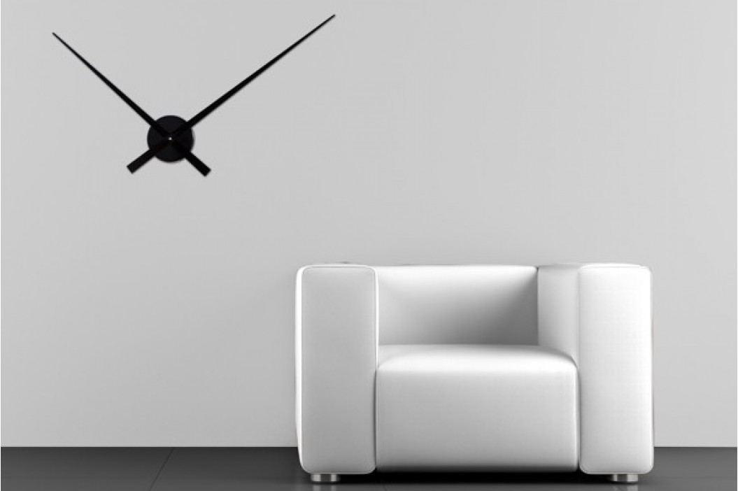 Nástenné hodiny ASKROVA 80 cm - čierna