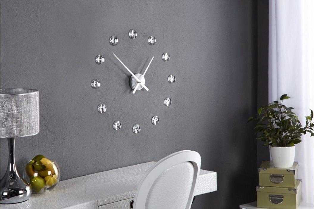 Nástenné hodiny ALDEN s kryštálmi