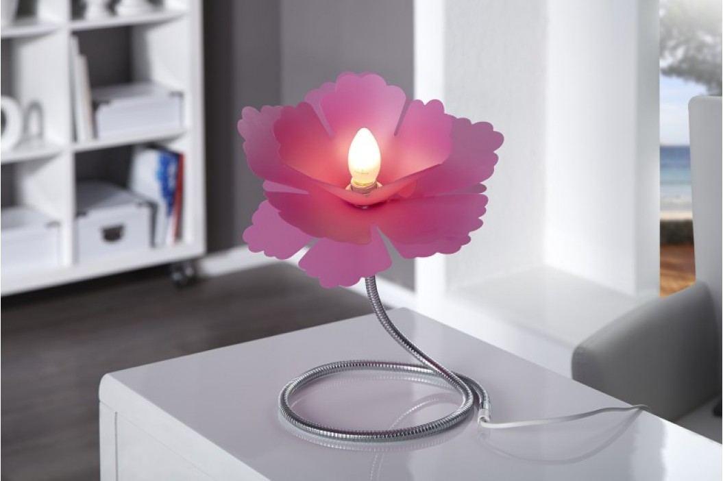 Stolná lampa LUCIDA - ružová