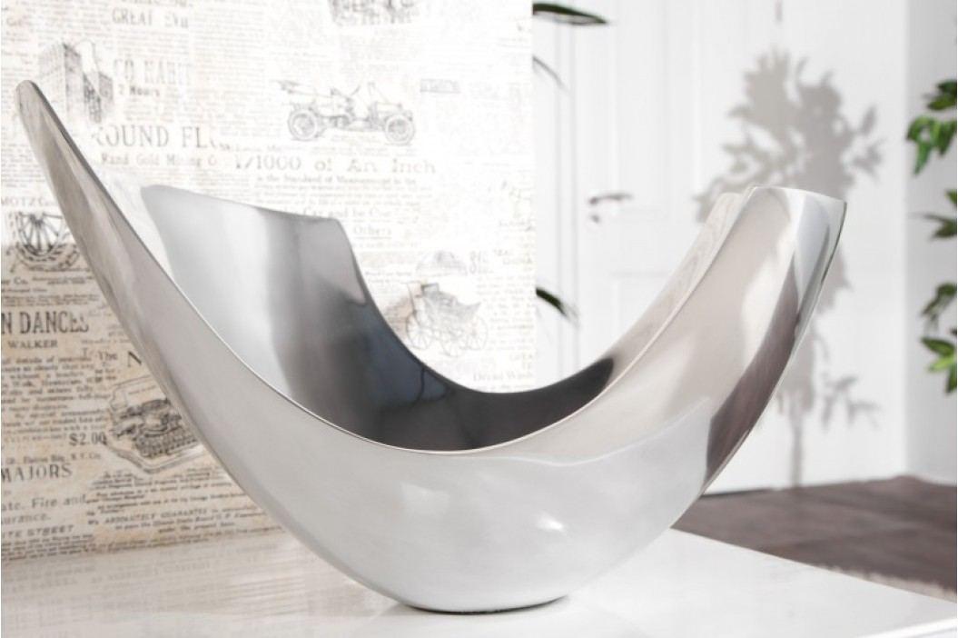 Miska hliníková MIA 35cm - strieborná