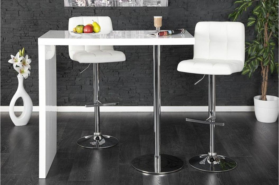 Barový stolík LUCAS - biela