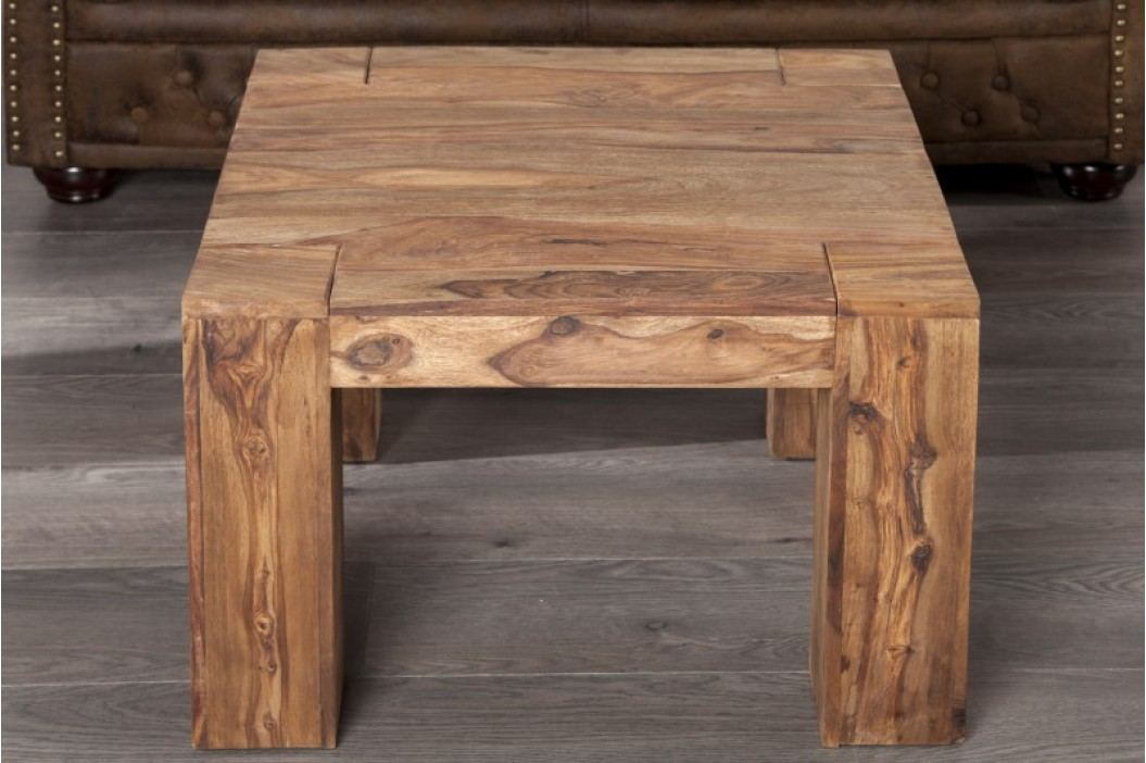 Konferenčný stolík MAKASSAR SMALL - hnedá