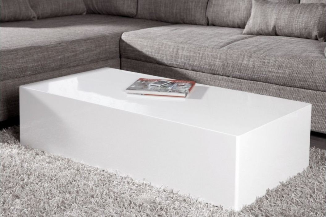 Konferenčný stolík MONOBLOCK XL - biela