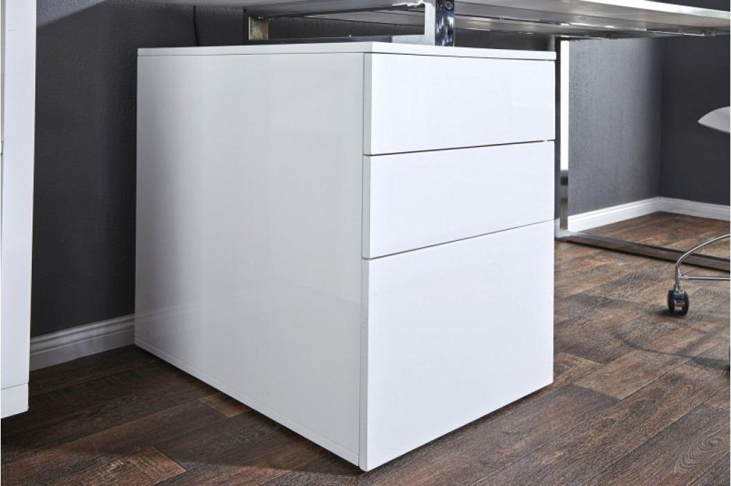 Písací stôl COMPACT - biela