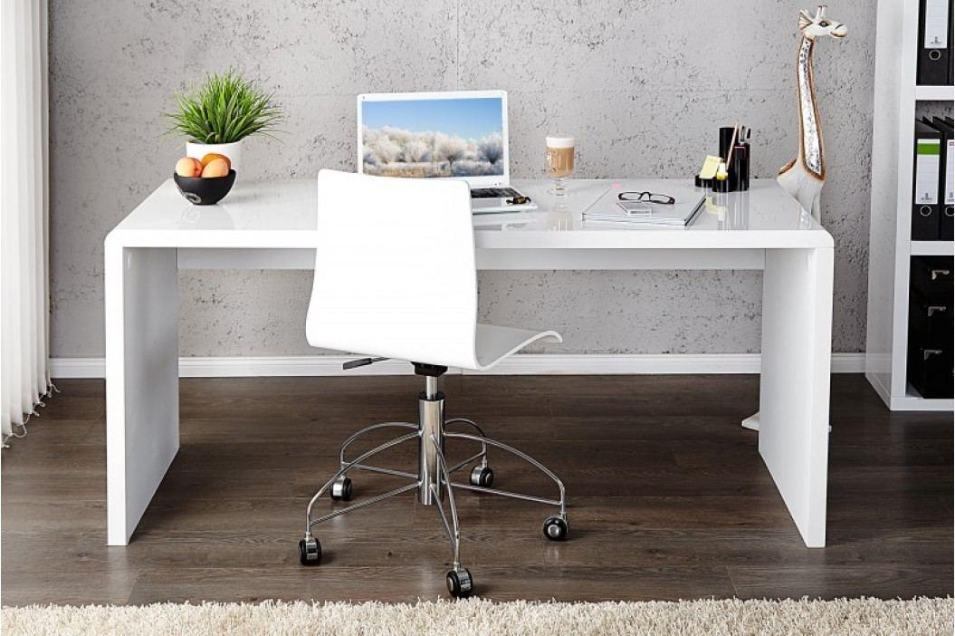 Písací stôl CONOR 120cm - biela