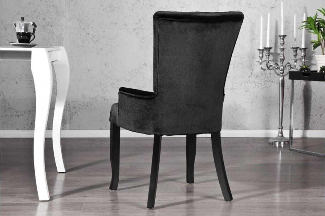 Stolička BAROCCO SET BLK - čierna