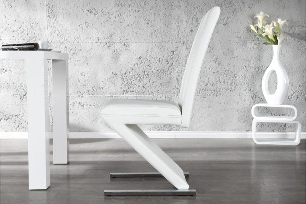 Stolička ELLIOT CHAIR WHITE - biela