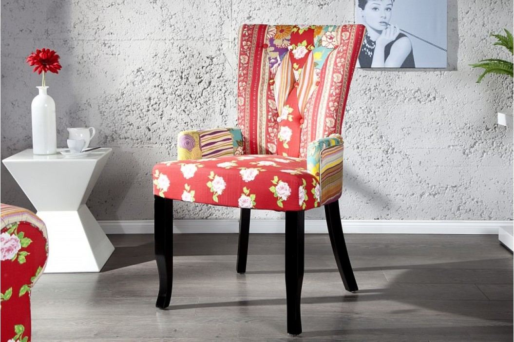 Stolička IBIZA  - červená
