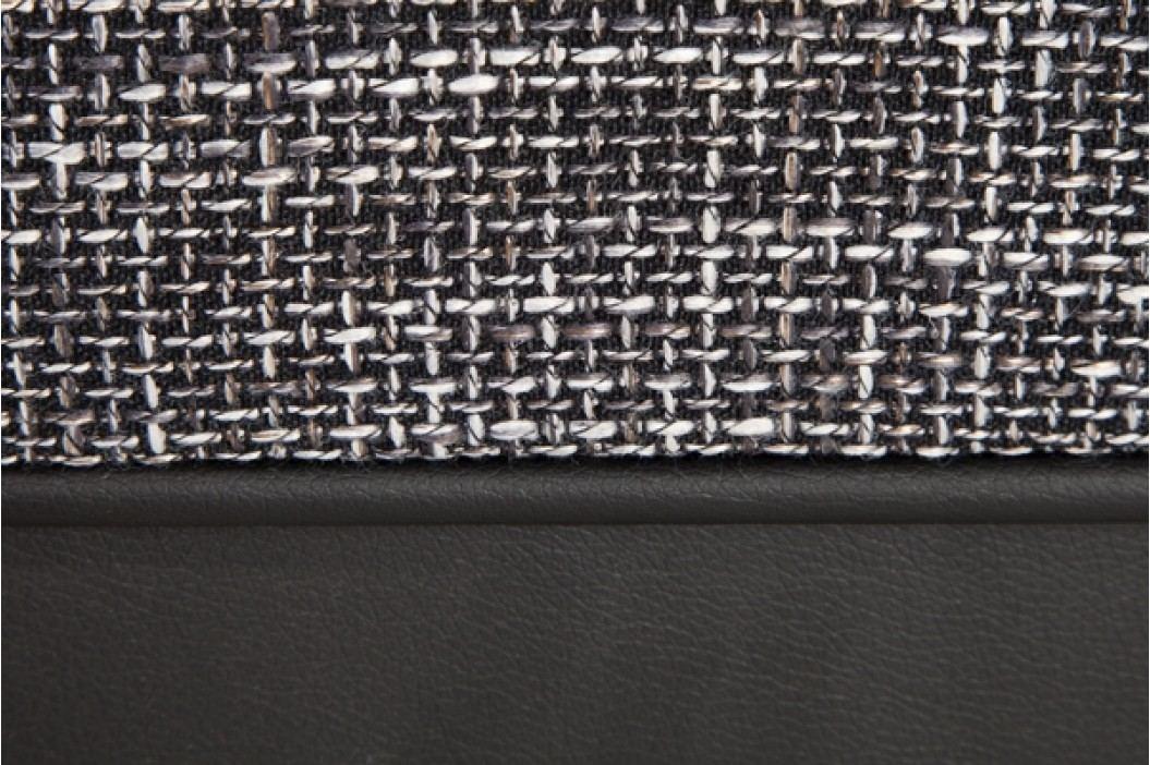 Rohová sedacia súprava PUEBLO čierna/sivá