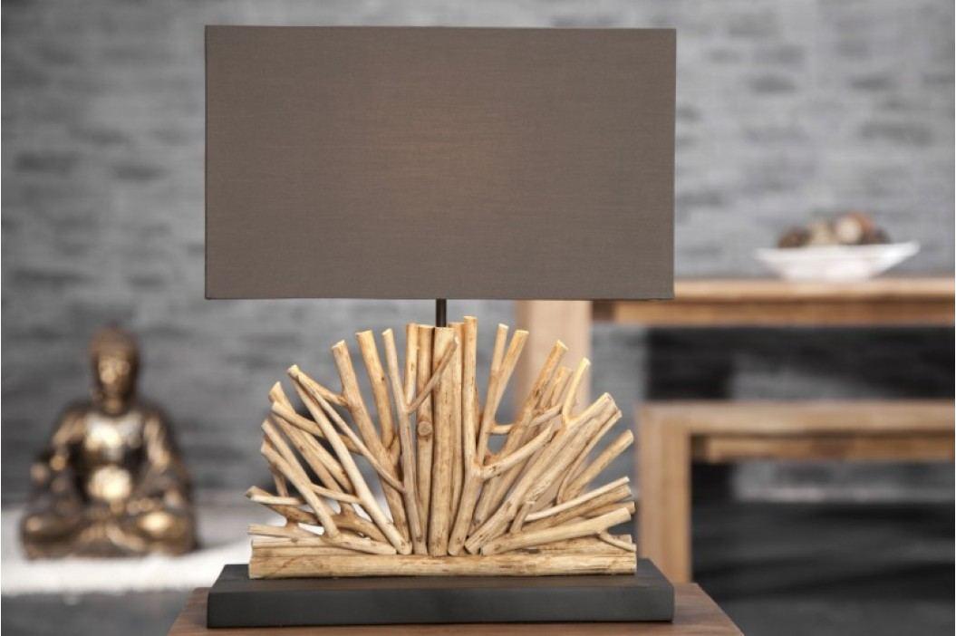 Stolná lampa LUPUS - hnedá