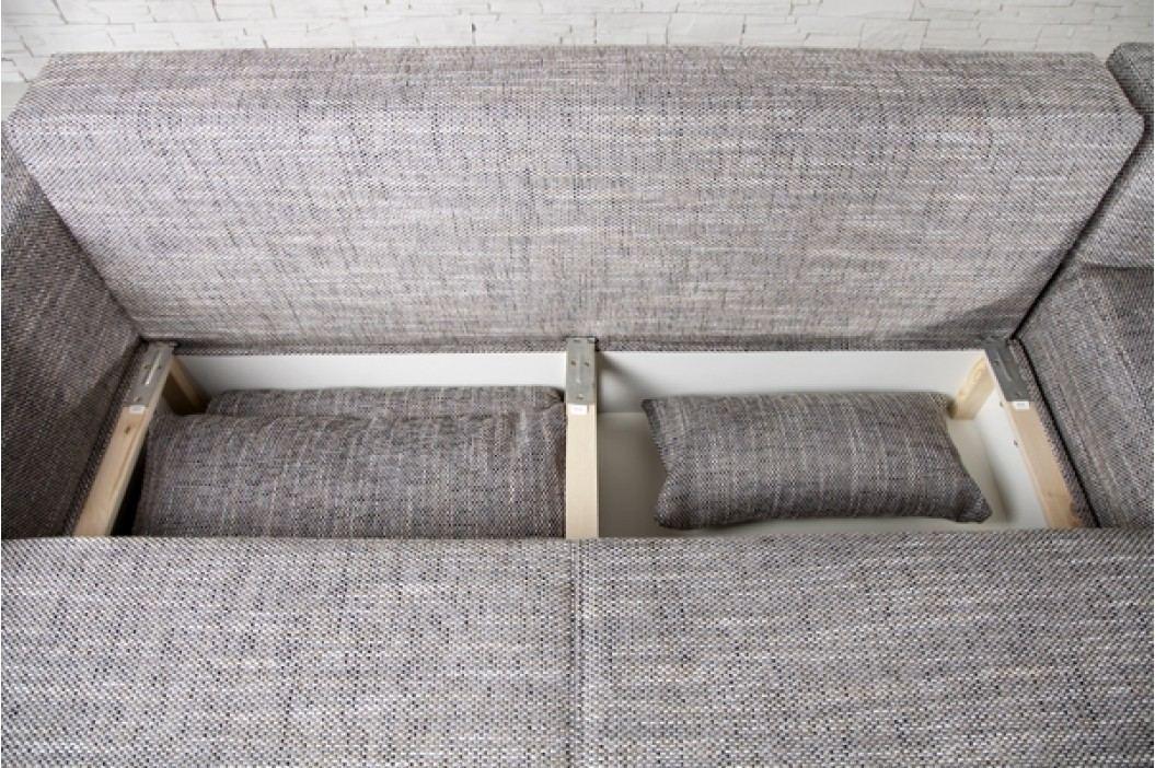 Rohová sedacia súprava NORWALK -antracitová