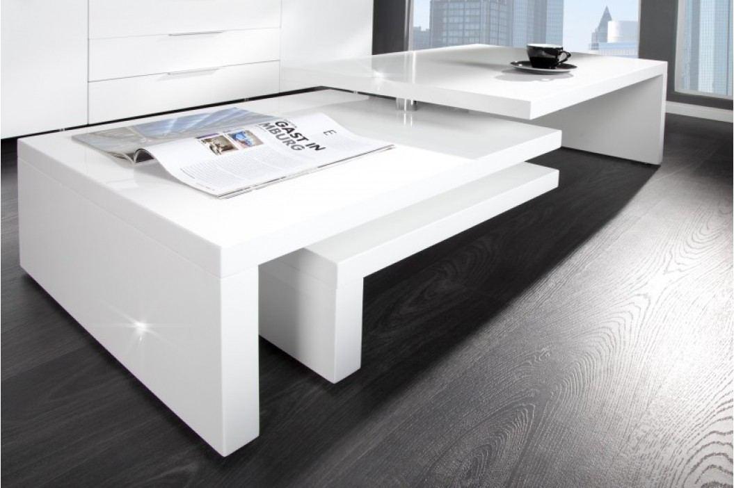 Konferenčný stolík STEPS - biela