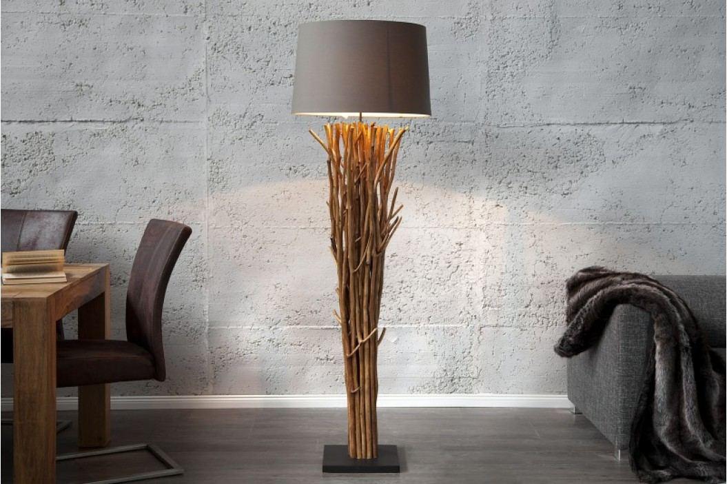 Stojaca lampa DELTA - béžová