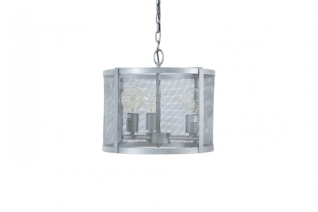 Bighome - Visiaca lampa LEFT 40 cm - strieborná