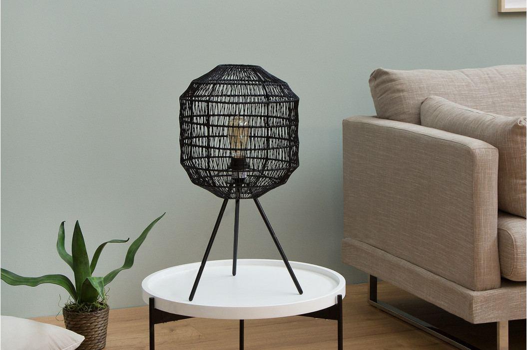 Bighome - Stojaca lampa CAGES 57 cm - čierna