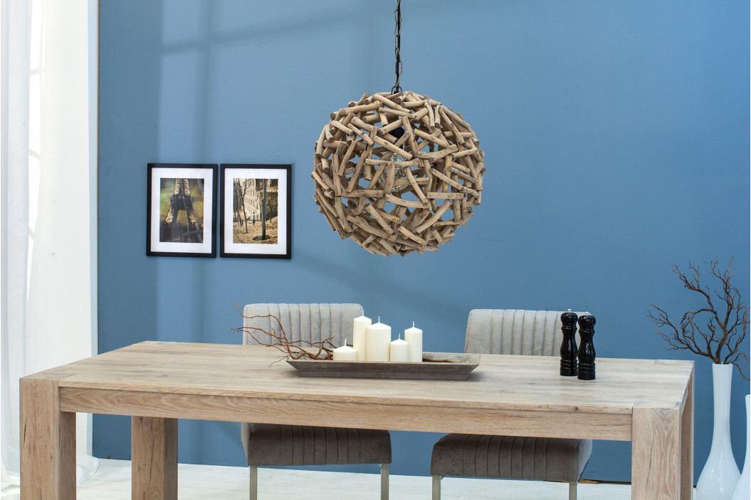 Bighome - Visiaca lampa PURE NATUR 40 cm - prírodná
