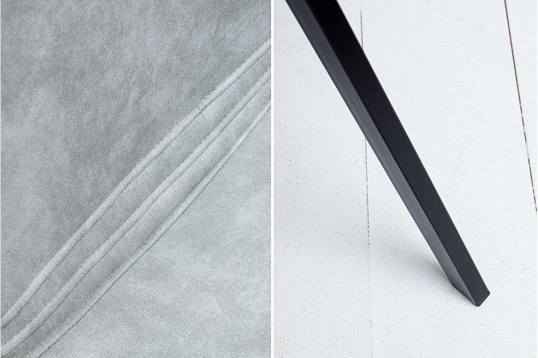 Bighome - Stolička ROTTERDAM - kamenná sivá