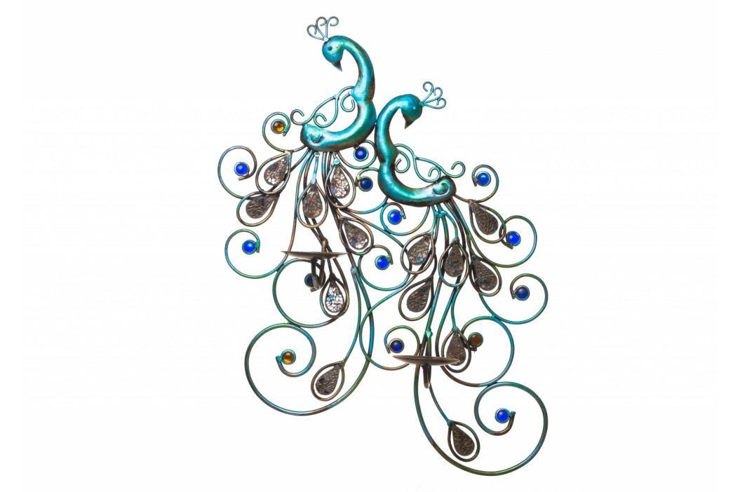 Bighome - DEKOR nástenný svietnik 40 cm, viacfarebná