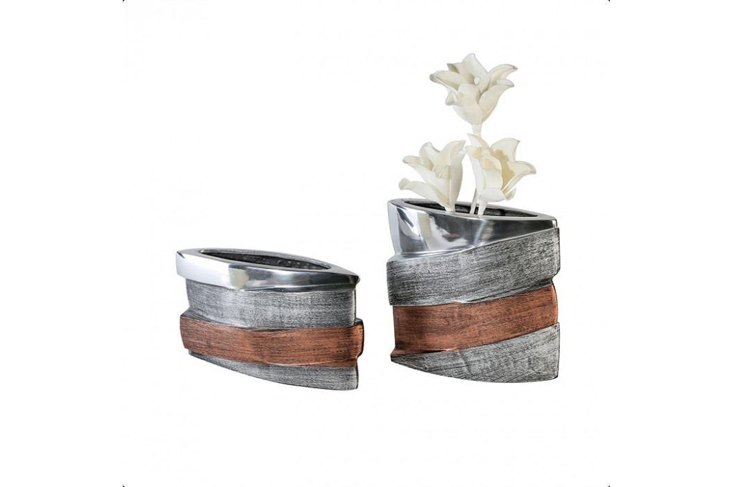 Bighome - Váza BAY 18 cm - viacfarebná