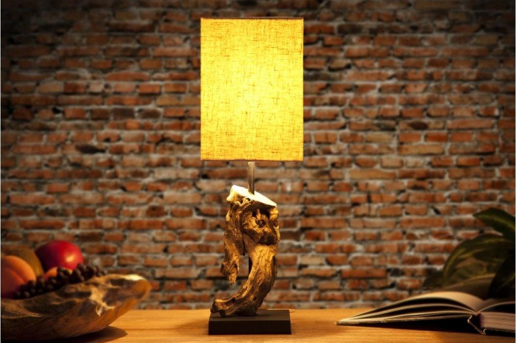 Stolná lampa CYGNUS béžová