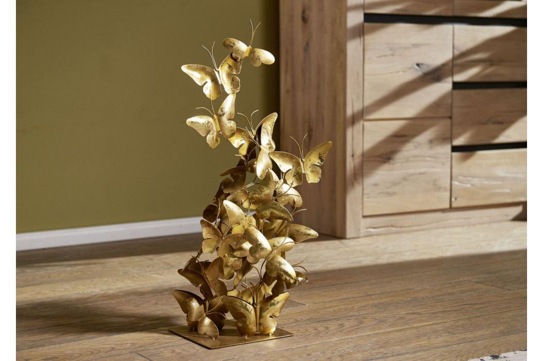 Bighome - DEKOR socha 66 cm, zlatá