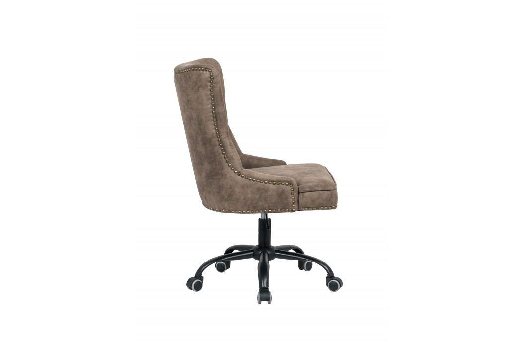 Bighome - Kancelárska stolička VICTORY - svetlohnedá