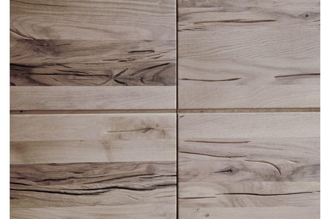 Bighome - VEVEY Polička 115x17 cm, svetlohnedá, dub