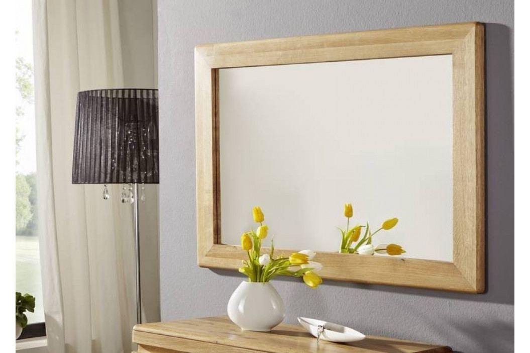 Bighome - VIENNA Zrkadlo 100x70 cm, dub