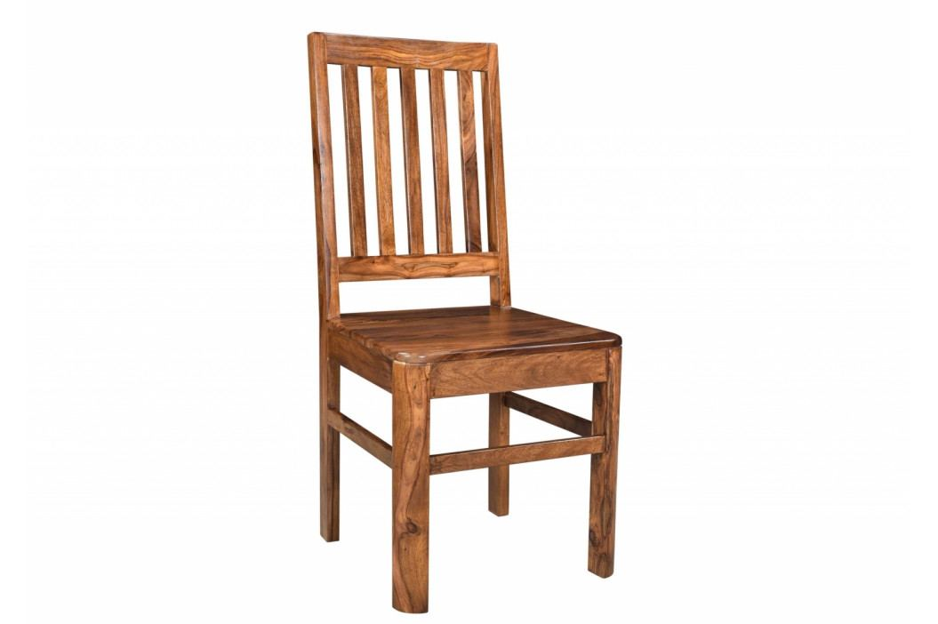 Bighome - MONTREAL Jedálenská stolička drevená, hnedá, palisander