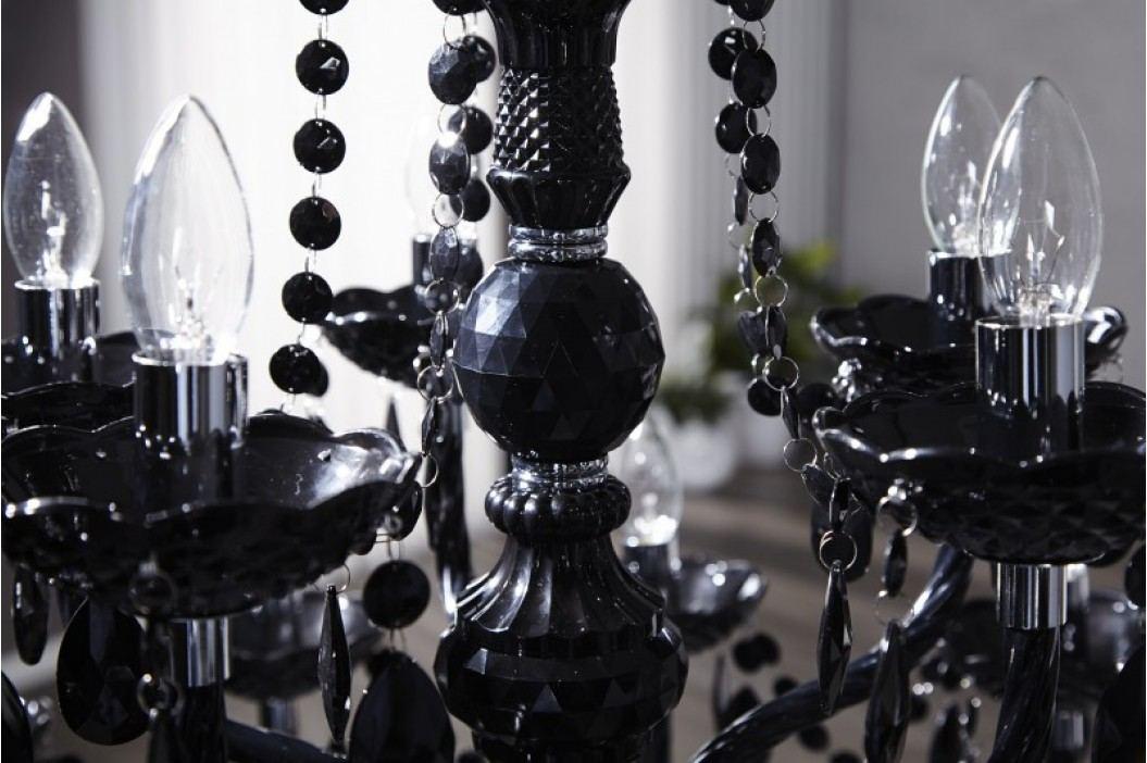 Luster TOLIMAN 15-ramenný - čierna