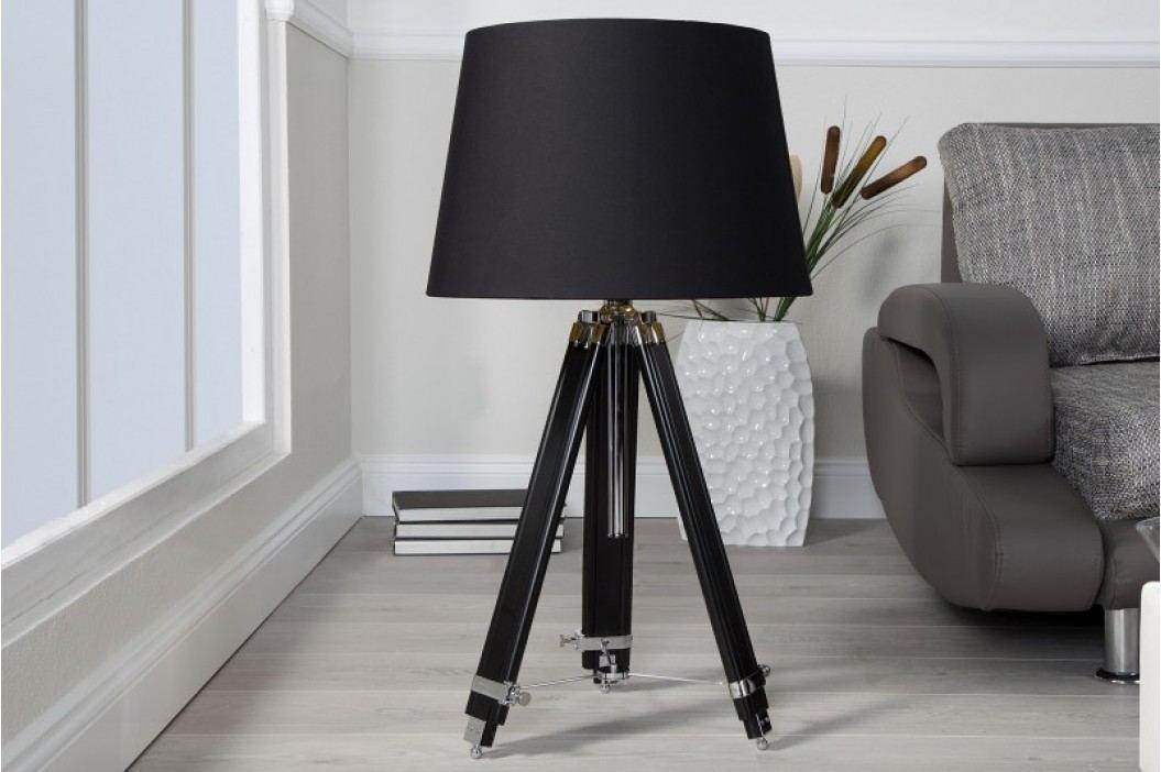 Stojaca lampa PYXIS výškovo nastaviteľná - čierna