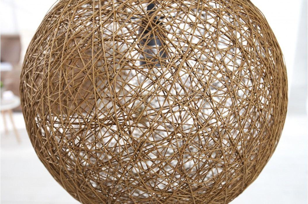 Závesná lampa CONON 45 cm - hnedá